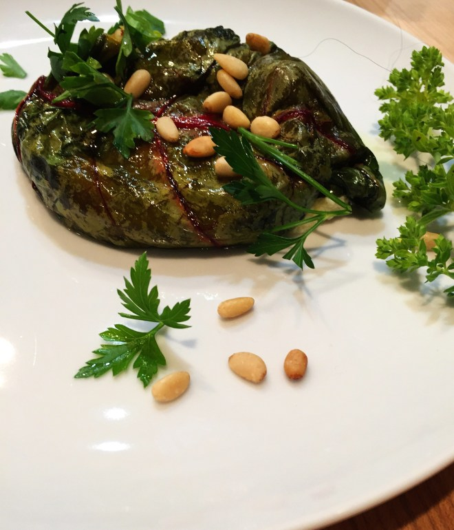 Greek Pies wrapped in Chard Leaves
