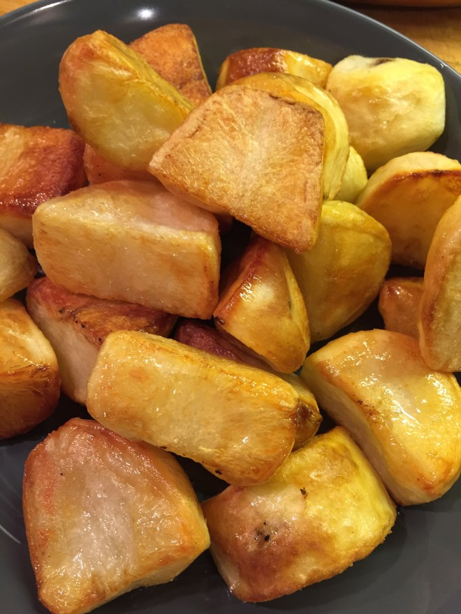 Crispy oven roast potatoes