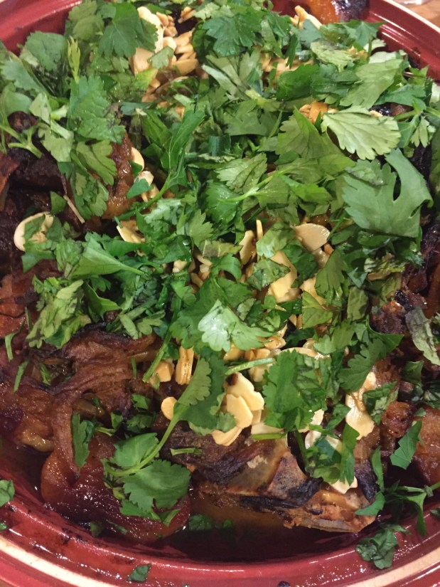 March – Lamb Tagine (Moroccan Lamb with Apricots)