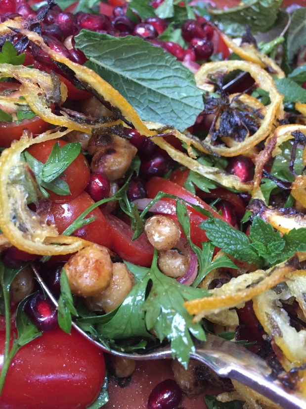 June – Tomato and Roasted Lemon Salad
