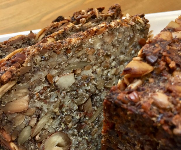 August – Gluten Free Oat, Nut and Seed Bread
