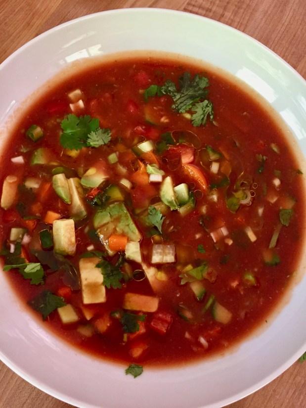 August – Salad Soup