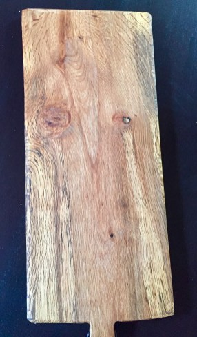 Antique California Chestnut Oak Charcuterie Server