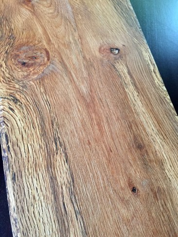 Antique California Chestnut Oak Kitchen Plank