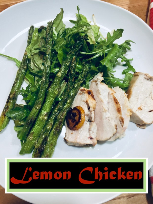 January – Lemon Chicken