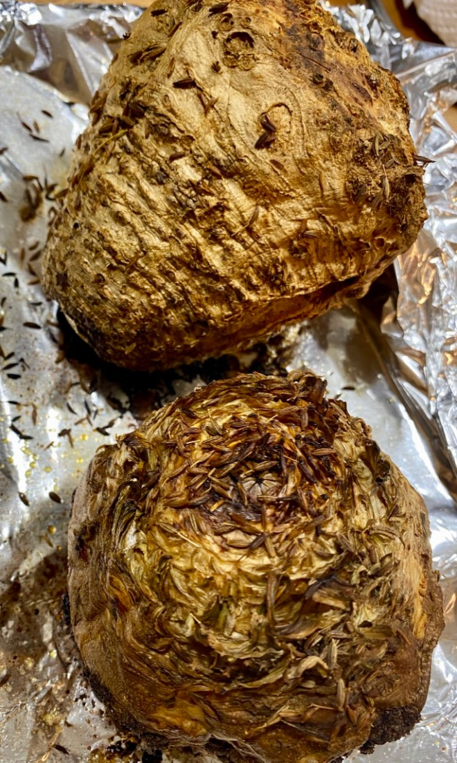 Roast Celery Root or Celeriac