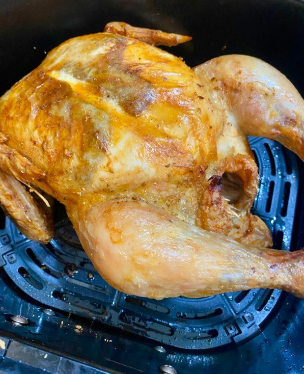 July – Roast Chicken in the Air Fryer