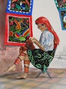 Kuna Indian of Panama
