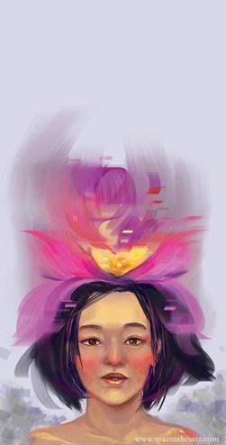 Brain, blossom! CG, 2013.