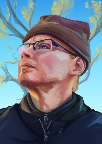 Portrait of Callan, by SpAE - digital 2017