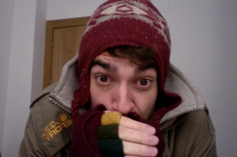 spain, cold, winter, hat, gloves