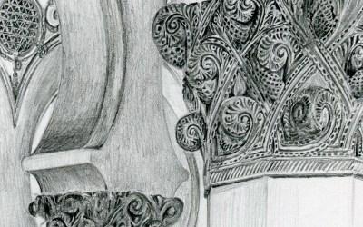 SinagogaToledolapiz_detail