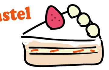 スペイン語 ケーキ パステル