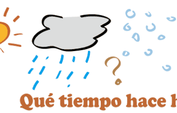 スペイン語 天気