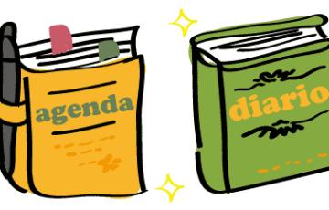 スペイン語 日記 手帳