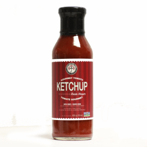 gourmet tomato ketchup, non-gmo ingredients