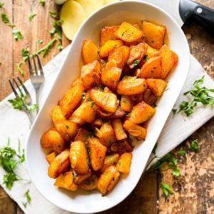 Spicy Garlic Spanish Potatoes