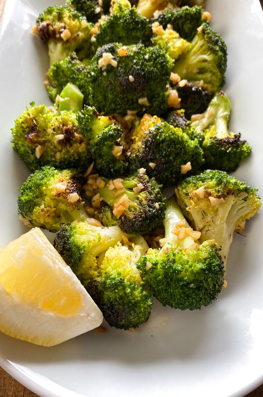 Spanish Garlic Broccoli