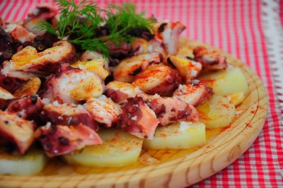 receta original pulpo a la gallega