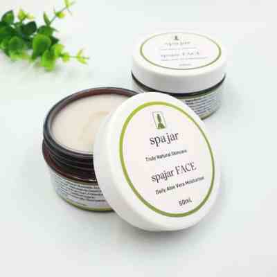 Natural Face Moisturiser – Rejuvenating Day & Night Cream – scented
