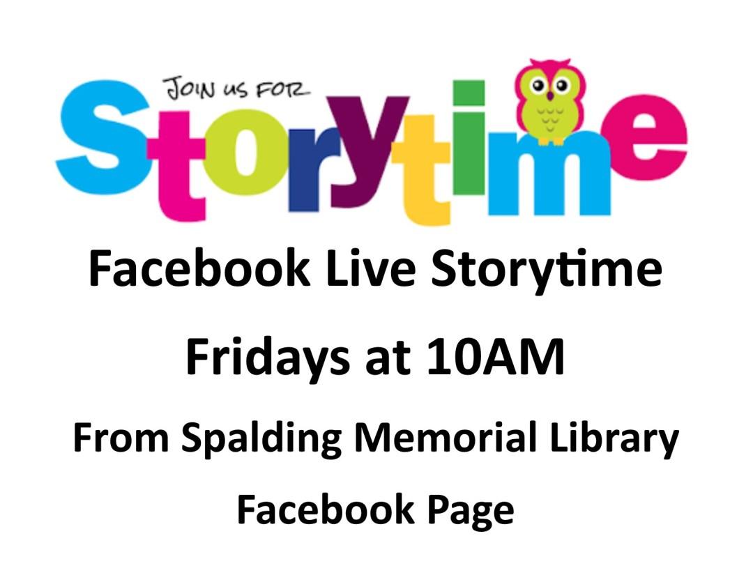 Generic Facebook Live Storytime