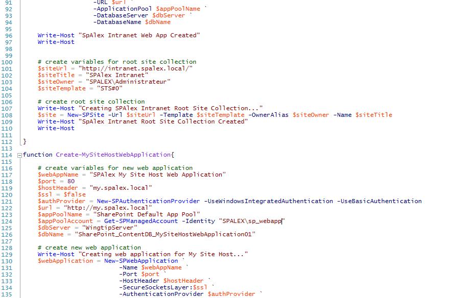 Créer son environnement de développement SharePoint 2013 sur VMWare Player / Windows Seven (1/3)