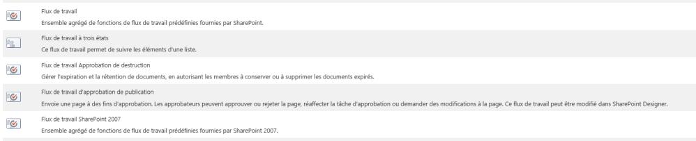 Utilisation des workflows SharePoint 2013 (2/6)