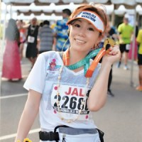 美人マラソンランナー