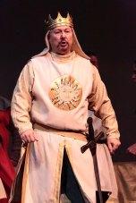 Steve Russell as King Arthur