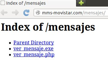 index of movistar mms