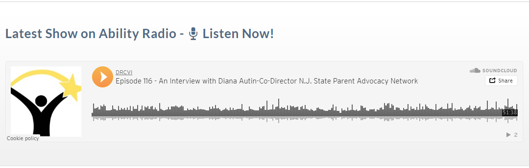Diana Autin Speaks on Ability Radio Podcast