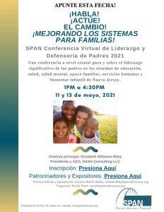 Conferencia Virtual de Liderazgo yDefensoría de Padres 2021