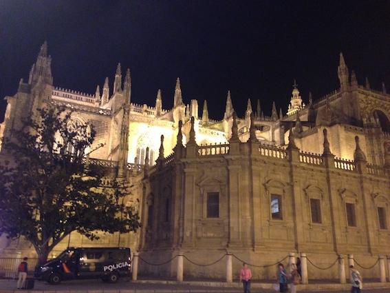 Katedralen er magisk! Spesielt i kveldslys
