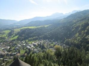 Vista del Valle mirando hacia el sur.