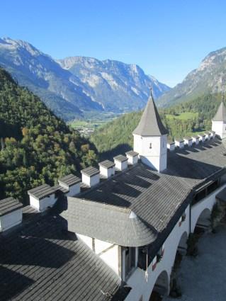 El valle, en dirección norte (hacia Salzburgo).