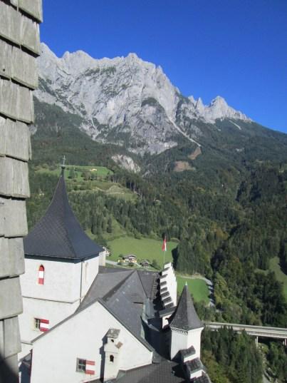 Los Alpes de nuevo, esta vez desde el punto más alto al que se puede subir.