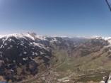 El valle visto a más de 1.200 metros de altura.