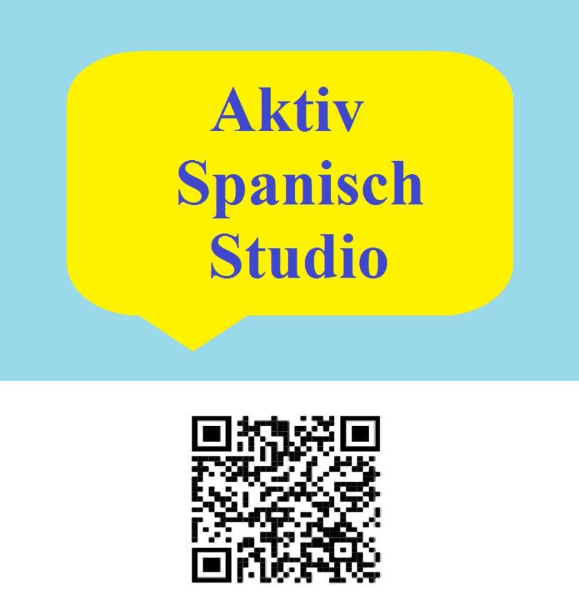 Aktiv Spanisch Studio QR Karte