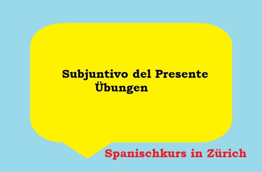 Subjuntivo del presente