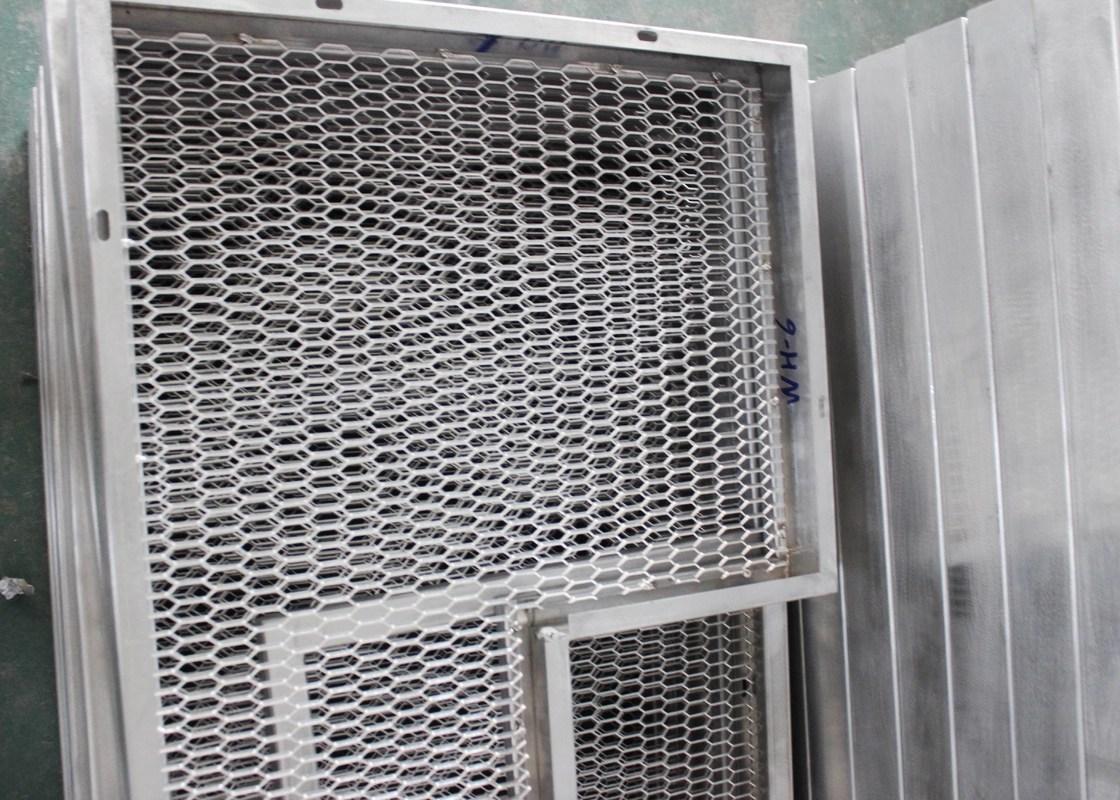 Tejas Comerciales Del Techo De La Malla Metalica Para La