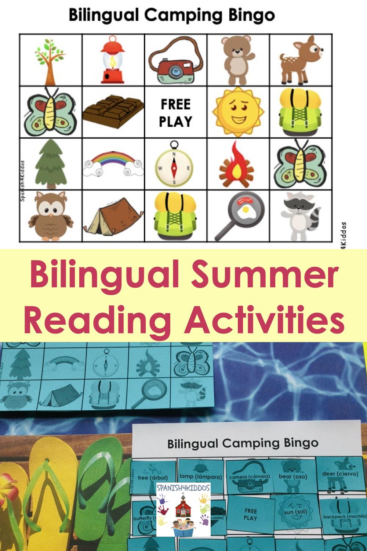 Spanish summer learning activities