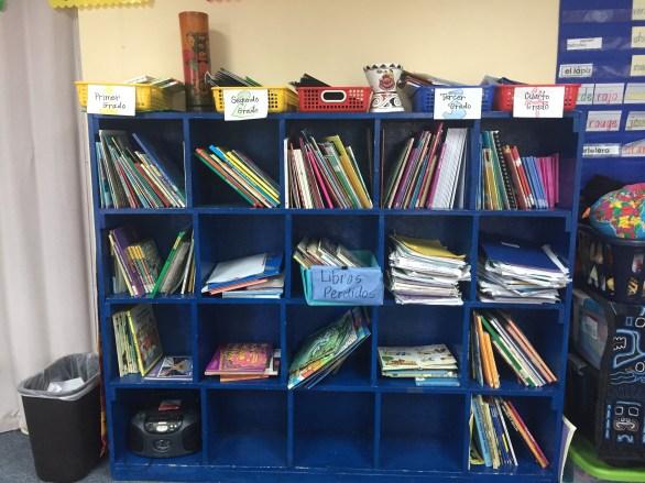 March 2017 book shelves