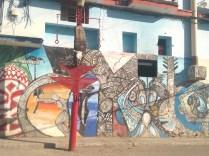 street art en Cayo Hueso Habana