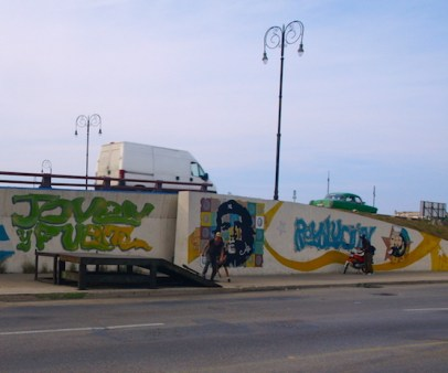 Street Art in Havana Che