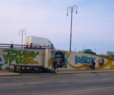 murales en las calles de la habana