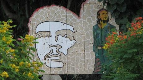 Mural del Che en La Habana