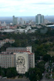 View of Havana and Revolution Square