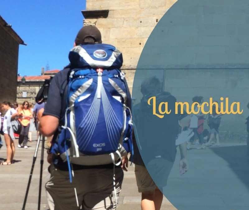 Mochila Spanish for Camino