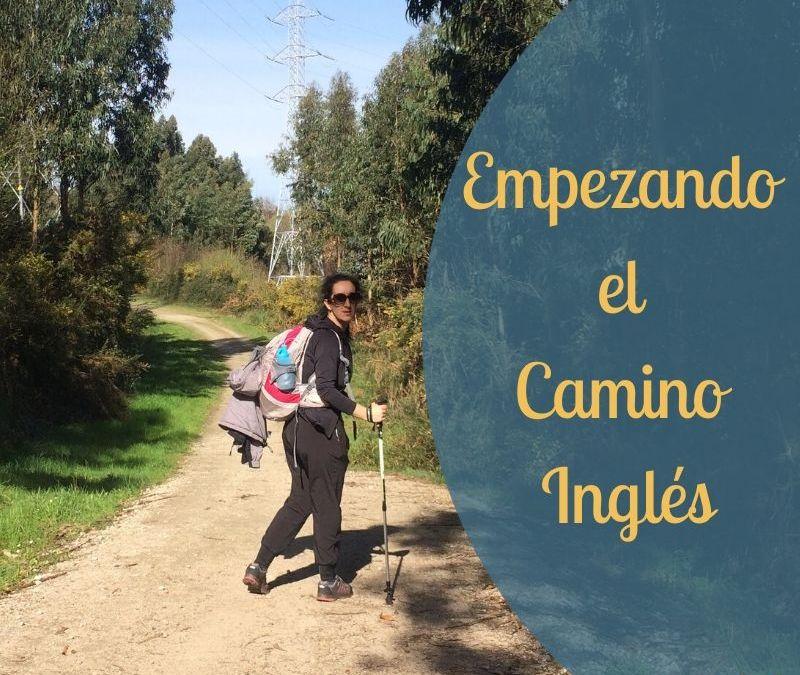 Empezando el Camino Inglés blog