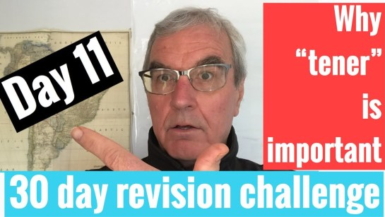 Spanish GCSE 30 day challenge | day 11